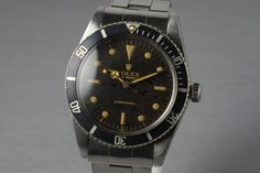 1962 Rolex Submariner 5508 Tropical Dial
