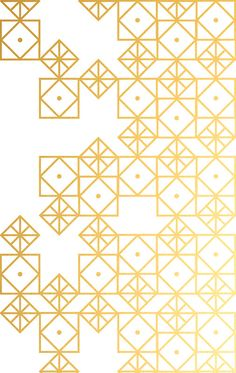 Resultado de imagen para Geometric Gold Art Print by Cat Coquillette