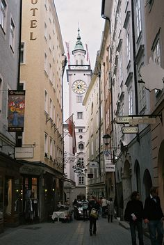 From the beautiful city of Salzburg, Austria