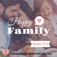 Join Happy HeART Retreat today for a 6 week program for the whole family. Visit our website for more info.  www.happyheartretreat.com   #lockdown #familyfun #familyactivities #familyfriendly Happy Family, Friends Family, Art Therapy Courses, Happy Heart, For Everyone, Family Activities, Like You, Bond, Stress