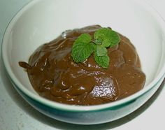Vegan Carob Mousse: I must be the only person in the world who does not like chocolate mousse. This recipe may come handy if one day I may be required to make it for some reason or another.