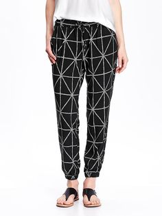 Women's Patterned Soft Pants
