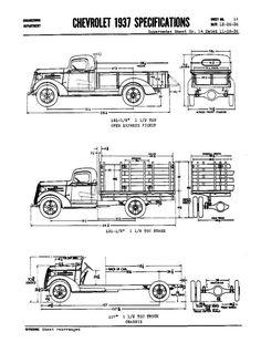 Gaz aa blueprint download free blueprint for 3d modeling 1937 chevy trucks malvernweather Gallery