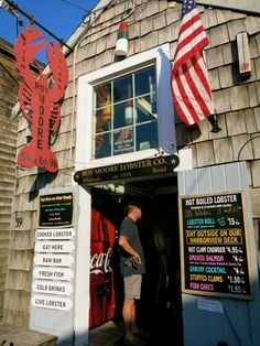 Roy Moore Lobster Co, Rockport MA
