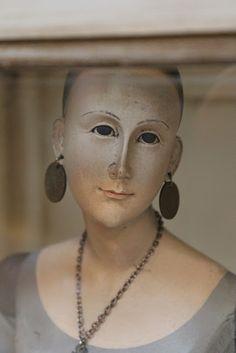 White Horse Relics: Santos Dolls, Animals & More