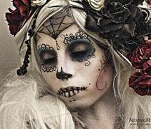 Inspiring picture day of the dead, dia de los muertos, sugar skull. Resolution: 800x612 px. Find the picture to your taste!