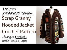 Scrap Granny Hooded Jacket Crochet Pattern – Maggie's Crochet