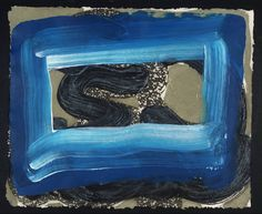 "Howard Hodgkin - ""Seafood"", 2001 - Etching, aquatint and Carborundum on paper - 434 x 525 mm. Howard Hodgkin, Western Art, Abstract Expressionism, Painting Abstract, Printmaking, Art Pieces, Artsy, Seafood, Prints"