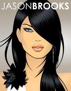 ... so beautiful...  Pic by Jason Brooks (Pop Art Illustrator)