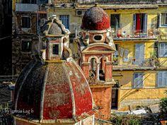 corfu island by iannis lag Corfu Town, Corfu Island, Corfu Greece, Greece Islands, Being In The World, Greece Travel, Santorini, Old Town, Beautiful Places