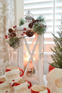Cozy Christmas Home + Gift Ideas with Better Homes and Gardens Best Outdoor Christmas Decorations, Pretty Christmas Trees, Creative Christmas Trees, Christmas Lanterns, Cozy Christmas, Christmas Stuff, Christmas Ideas, Xmas, Better Homes And Gardens