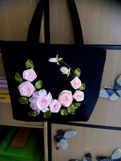 Handbag, sulam pita