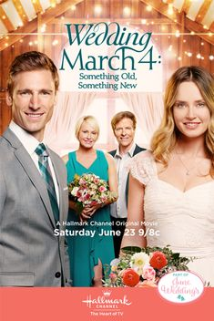 """Its a Wonderful Movie - Your Guide to Family and Christmas Movies on TV: Wedding March 4: Something Old, Something New -a Hallmark Channel """"June Weddings"""" Movie starring Jack Wagner, Josie Bissett, Andrew Walker, & Merritt Patterson!"""