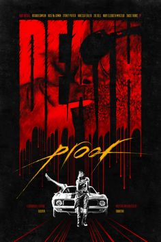 Death Proof - movie poster - Romain Livio Bernardo