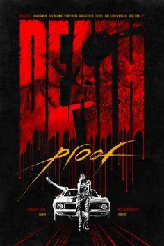 Death Proof - movie poster - Romain Livio Bernardo