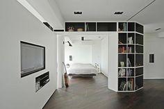 Living Room Partition Ideas - kamer splitsen | Pinterest
