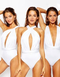 Image 1 of ASOS Multiway Swimsuit