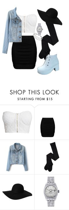"""Street"" by hemm ❤ liked on Polyvore featuring NLY Trend, Zizzi, Monki, Rolex and Wallis"