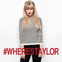 Taylor swift black and white stripes Taylor Swift Red Album, Taylor Swift Rot, Taylor Swift Style, Taylor Swift Pictures, Taylor Alison Swift, Taylor Swift Curls, Red Taylor, Celebs, Celebrities