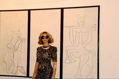 Beyonce at the Picasso Museum 2014