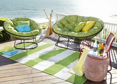 Our Outdoor Papasans give you reason to take lazy naps in the sun