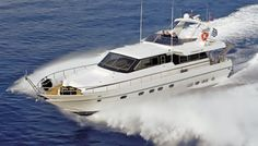Canadaos 58 motor yacht. 3 cabins. 6 + 1 berths. Available for charter in Greece.