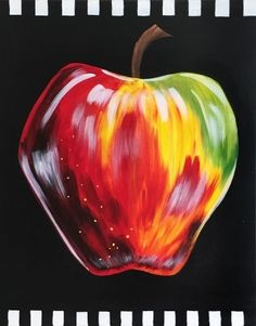 Learn to paint a Candy Apple