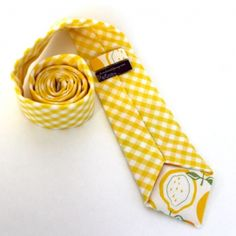 2013 Pantone Color | Lemon Zest - Goorm and groomsmend ties -  #weddings #yellow #menswear  #grooms