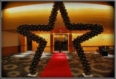 Red Carpet Event Decorations | Does your college event ideas include matching your school colors? If ...