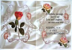 Peach Rose with A5 Insert with Verse on Craftsuprint created by Selina Dittmann - I printed this on good quality quartz shimmer paper.  I trimmed and scored as required.  Finished off by inserting into card with double sided tape.