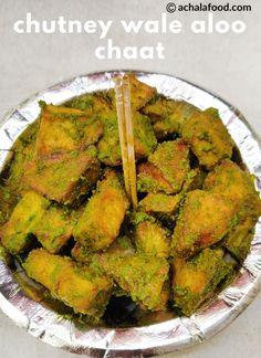 Chutney Wale Aloo Chaat Recipe #appetizers #chaatrecipes #noonionnogarlic #snacks #spicyrecipes #streetfood