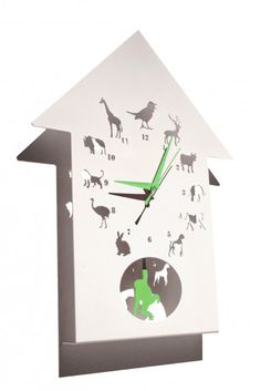 animalask clock from westergaard designs | Made By Polly Westergaard | £49.50 | BOUF