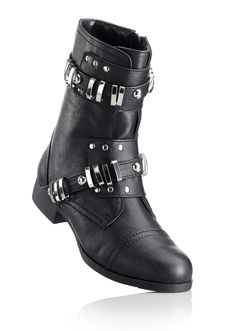 #black #boots #bonprix