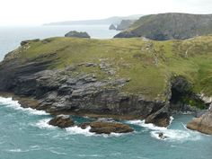 Cornwall, near Tintagel. I would LOVE to explore that cave. If it didn't drown me.