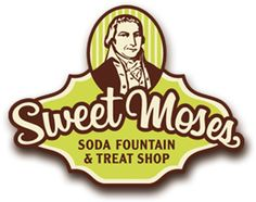Sweet Moses - Cleveland, Ohio. An old-fashioned soda shop complete with old-fashioned register, counter, delicious ice cream and homemade root beer.