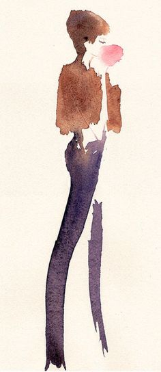Fashion illustration - Illustration de mode Sylvia Baldeva®