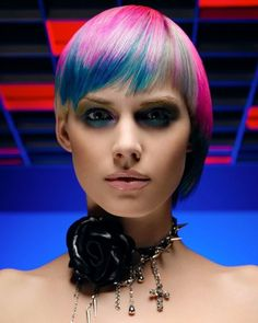 Hair: Sue Pemberton || Photographer: Hama Sanders || NAHA Haircolor Winner 2007