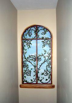 Tromp l'oeil window