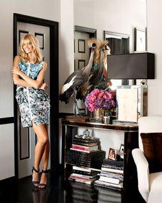 Ryan Korban's downtown apartment, as featured in Harper's Bazaar