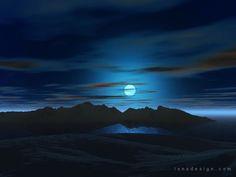 moonlight moon sky