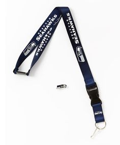 This Seattle Seahawks Lanyard & Pin Set is perfect! #zulilyfinds