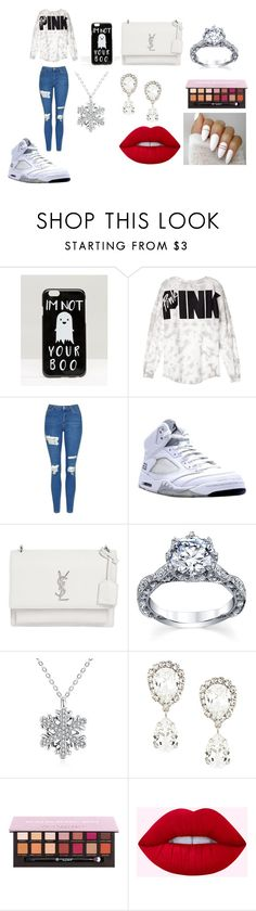 """Im Not Your Boo :)"" by breezybrebre on Polyvore featuring beauty, ASOS, Victoria's Secret, Topshop, NIKE, Yves Saint Laurent and Dolce&Gabbana"