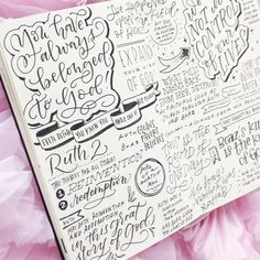 I love thinking about the humanity of the people in the Bible. They had real feelings, real struggles, real doubts and all that is laid bare in the Bible. God doesn't expect us to be perfect, he knows we are far from that, but his love for us never wavers. - #churchjournaling #churchlettering #biblejournaling #illustratedfaith Scripture Art, Bible Art, Bible Verses, Journal Quotes, Bible Journal, Creative Lettering, Hand Lettering, Bible Study Notebook, Sermon Notes