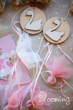 Βαπτιση Κυκνος - Blooming Little Princess, Hello Everyone, Baby Shower Themes, Birthday Celebration, Christening, Girl Birthday, Diy Gifts, Favors, Easter