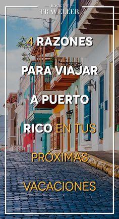 ¿Te gustaría #viajar a #PuertoRico? Te damos razones para que lo conozcas.
