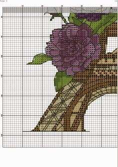 stitch cross Paris tour eiffel (4)