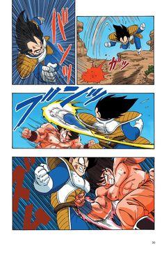 Read Dragon Ball Full Color - Saiyan Arc Chapter 36 Page 13 Online For Free Manga Art, Anime Manga, Dragon Ball Z, Goku Manga, Arte Nerd, Z Wallpaper, Ball Drawing, Manga Covers, Character Design
