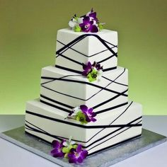 purple and green wedding cakes   Wedding Cakes Pictures Purple and ...
