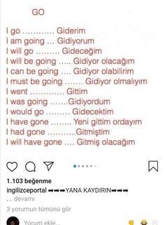 English Language Learning, English Grammar, Learning Spanish, Learn Turkish Language, Learn A New Language, Language Quotes, Language Lessons, Turkish Lessons, Grammar And Vocabulary