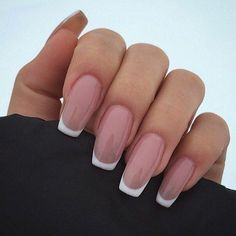 How to choose your fake nails? - My Nails French Tip Acrylic Nails, White Tip Nails, French Manicure Nails, Best Acrylic Nails, Long French Tip Nails, Acrylic White Tips, French Tip Toes, White French Nails, French Acrylics